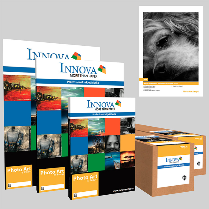 Innova Resin Coated Photo Metallic Lustre 260gsm (IFA72)