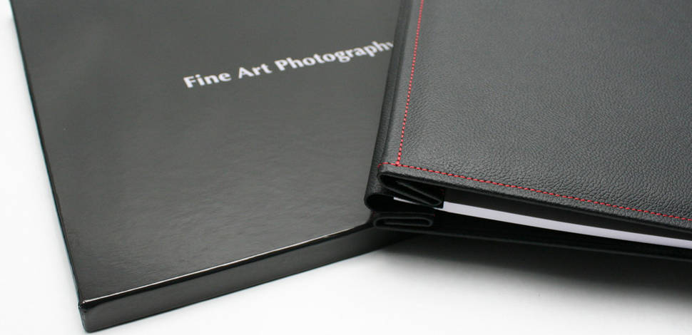 Hahnemuhle Leather Album Covers red stitching soft A4 (обложка)