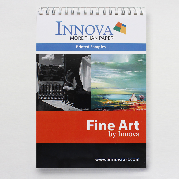 Каталог Innova Fine Art Swatch Books (A5)